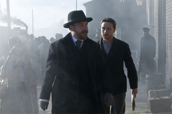 James McAvoy stars as Valentin Bulgakov in Sony Pictures Classics' The Last