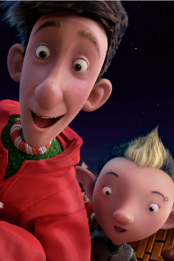 Arthur Christmas (2011) , Covering Media